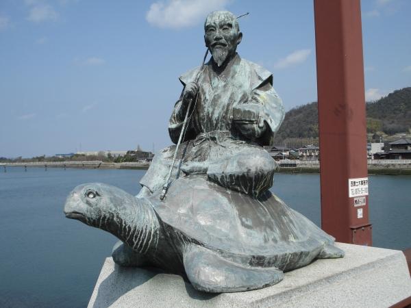 三豊市_浦島太郎像