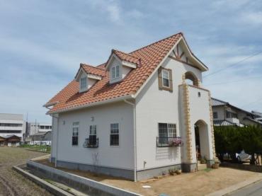 かわいい家の施工事例画像1