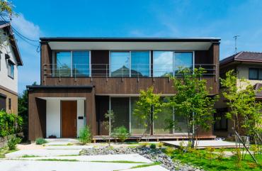 木の家の施工事例の画像1